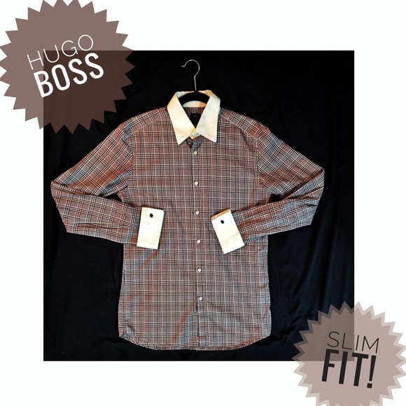 432a3644e Hugo Boss Other - 👔 Hugo BOSS ✨ Slim Fit Shirt French Cuff 39/15.5